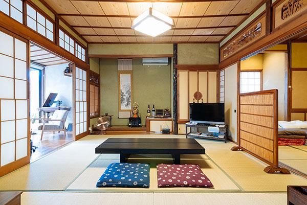 富山県富山市のゲストハウス 縁 enishi